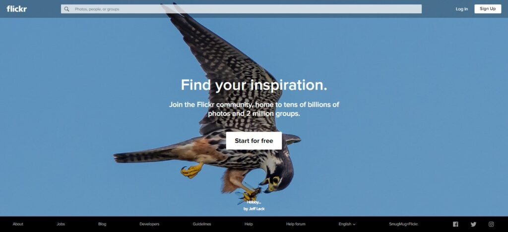 Flickr - Find your inspiration